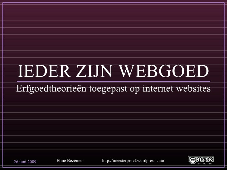 Interneterfgoed