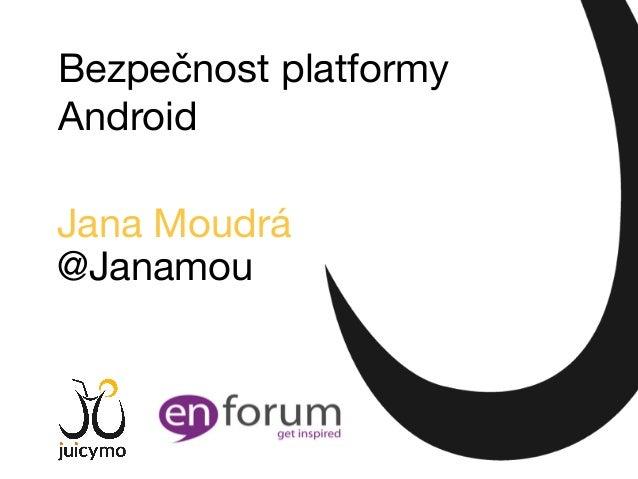 Bezpečnost platformy Android