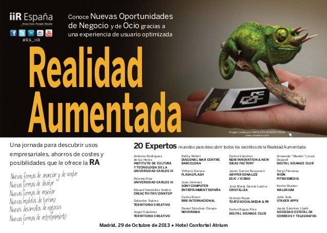 El mejor evento de Realidad Aumentada realizado en España hasta la fecha.
