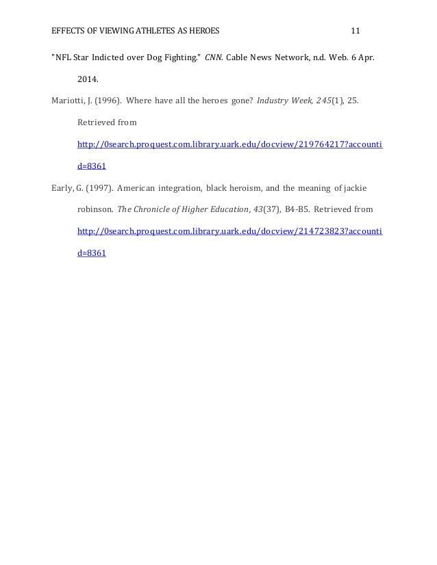 Sport research paper
