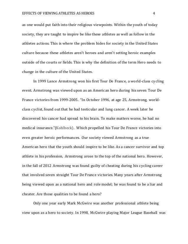 Role model research paper