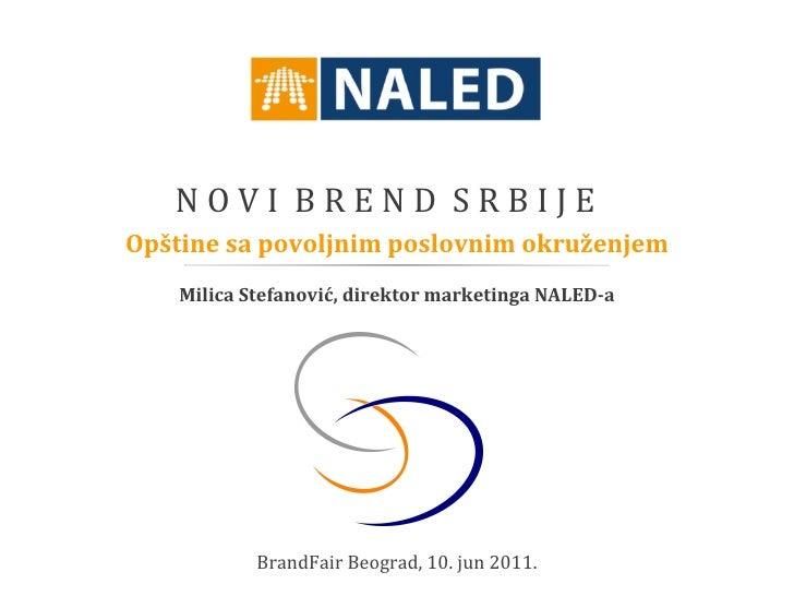 Novi brend Srbije - BFC