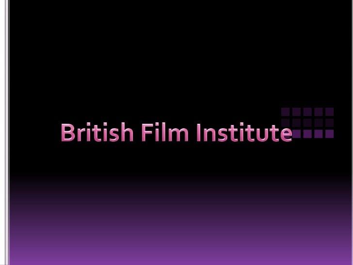 British Film Institute<br />