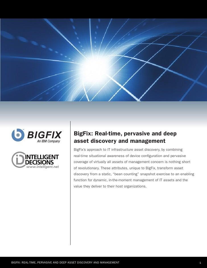 BigFix White Paper