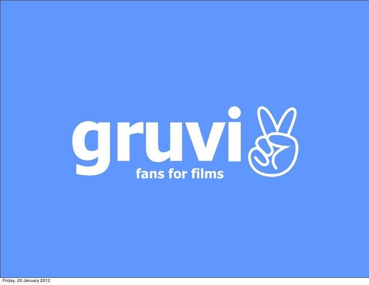 Gruvi Presentation Bfi day back info