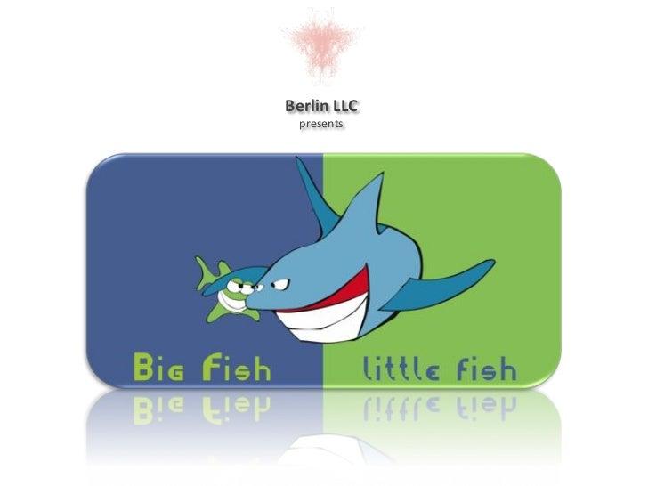 BFlf- Big Fish, little fish!