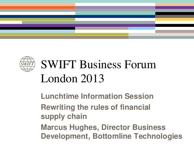 Financial Supply Chain - Bottomline Technologies
