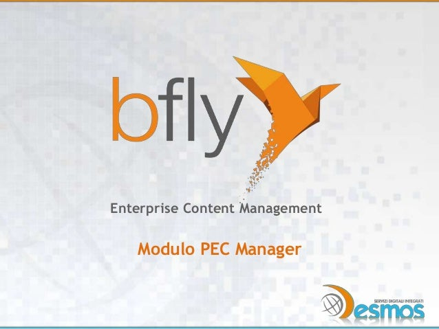 Bfly - modulo PEC manager