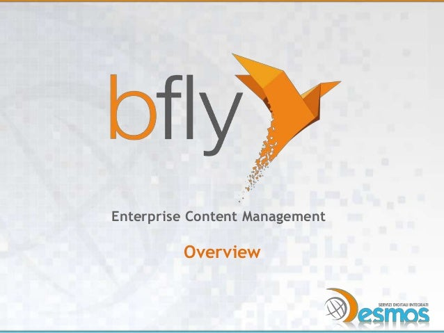 Enterprise Content Management  Overview
