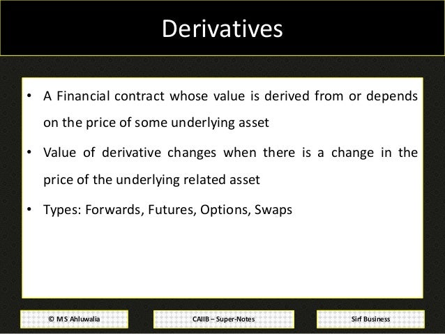 Forex derivatives definition