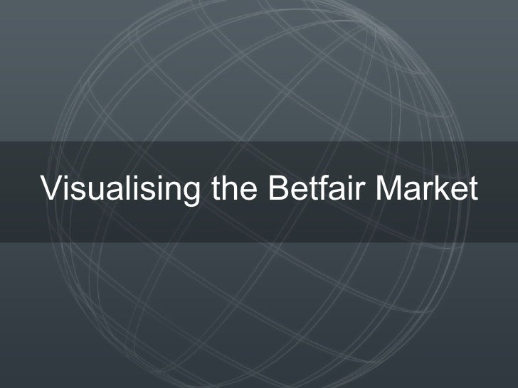 Visualising the Betfair Market