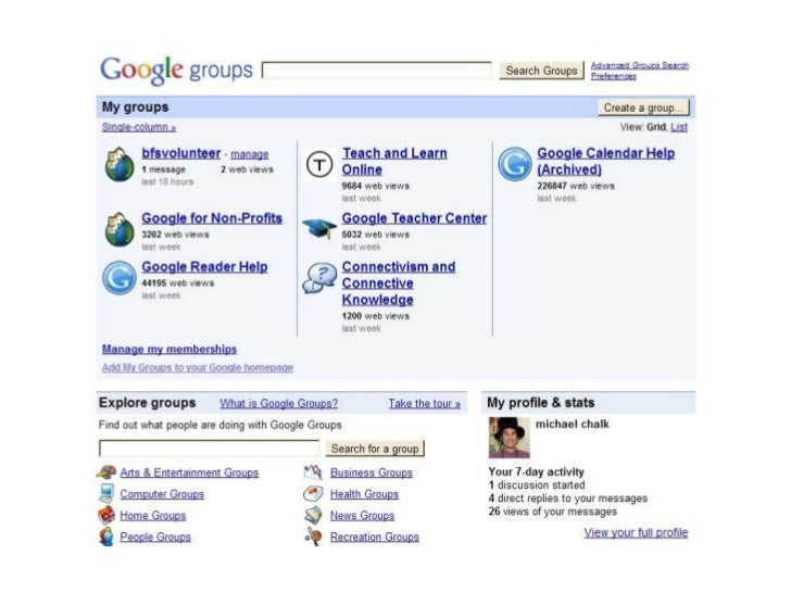 Broadband for Seniors (BFS) -    google groups