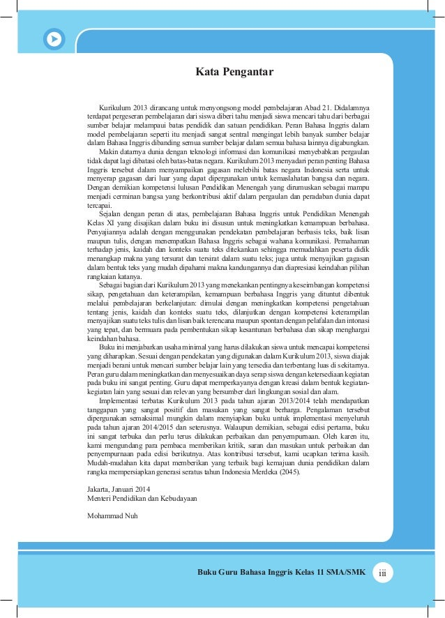 Buku Bahasa Inggris Kelas Xi Kurikulum 2013 Kemendikbud Buku Guru Complete Pdf Library