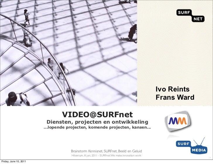 VIDEO@SURFnet