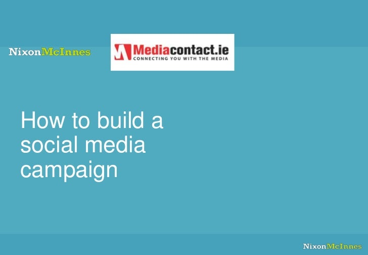 How to build a social media campaign: strategy and tools