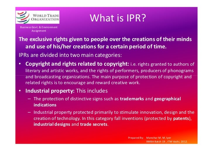 ipr assignment