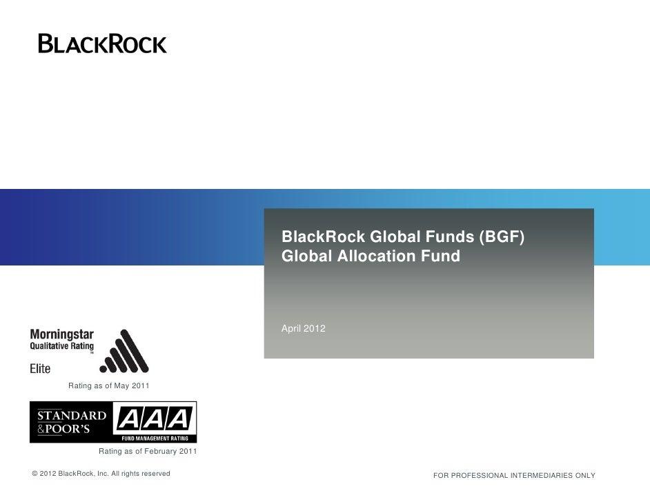Bgf global allocation fund