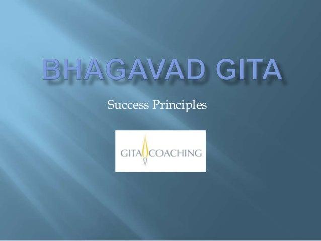 Bg Success Principles