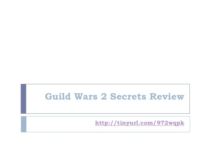 (B)guild wars 2 secrets