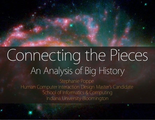 Connecting the Pieces: A Big History Text Analysis