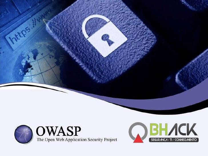 Owasp Chapter Belo Horizonte