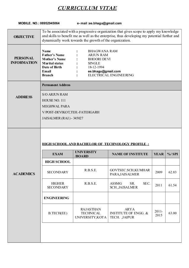 resume format current resume formats