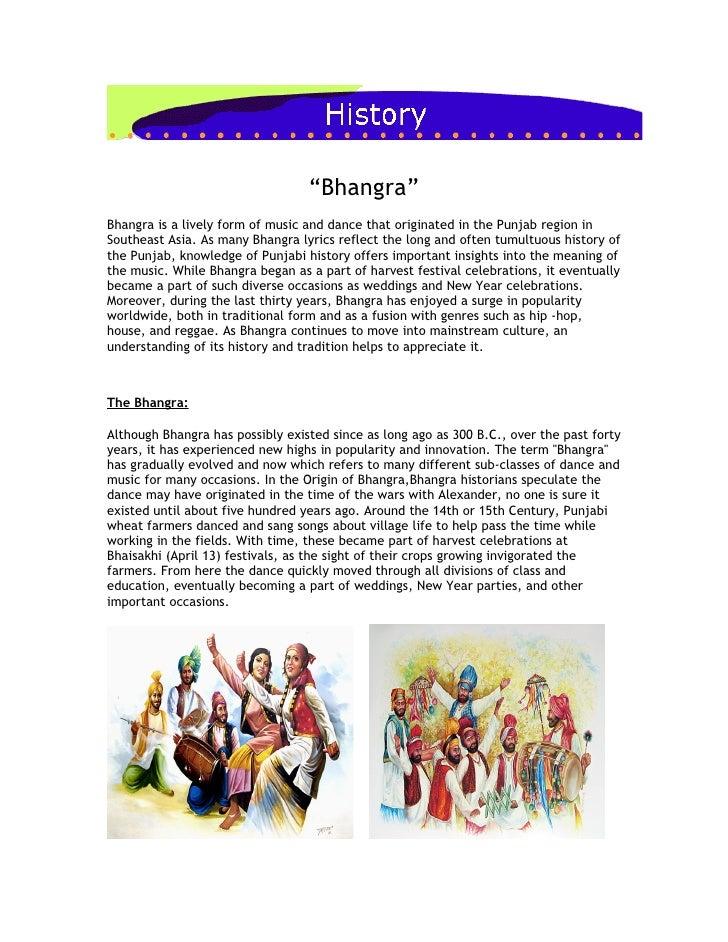 Bhangra History Iii