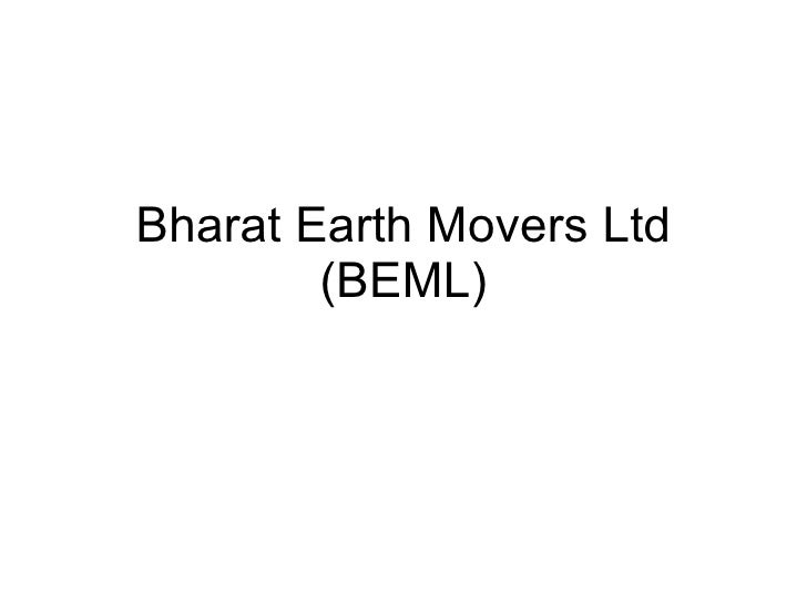 Bharat Earth Movers Ltd (BEML)