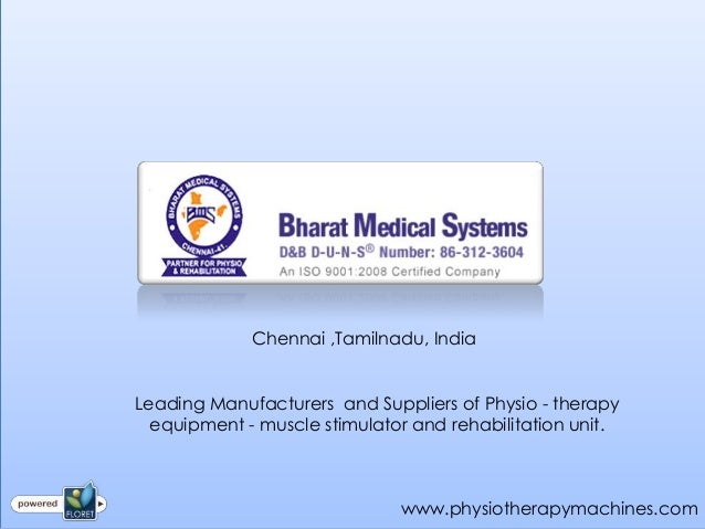 Physiotherapy Machines Manufacturer in India
