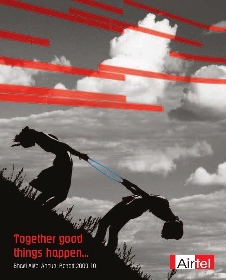 Bharti airtel annual_report_2009_10