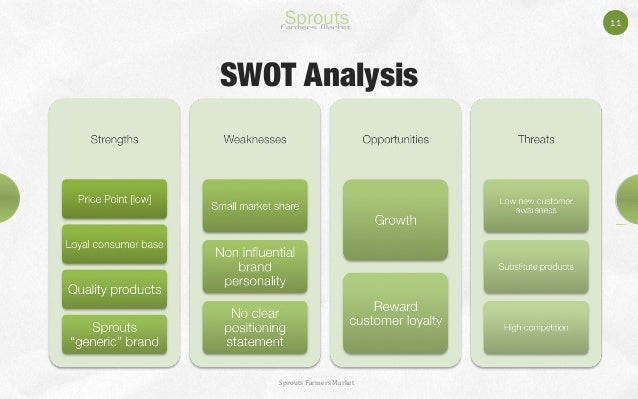 swot analysis on trader joes Trader joe's mission is to focus on providing great value to customers by having competitive prices on all their products the swot analysis.