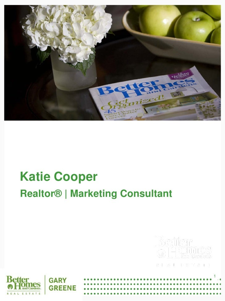 The Katie Cooper Team Listing Proposal