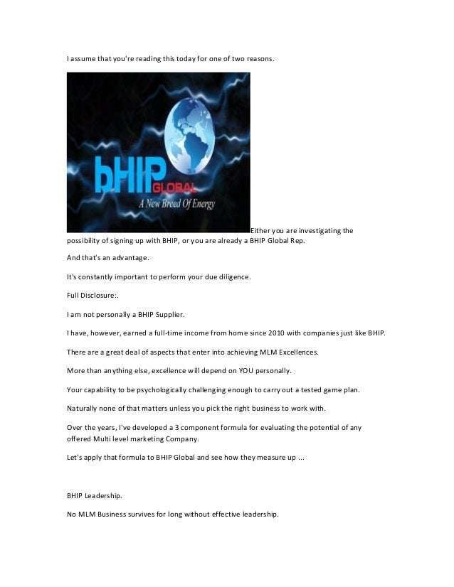 Bhip global review - Are you wondering if its a scam?