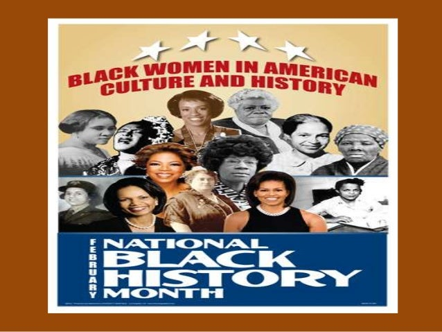 Black History Month Presentation (Women in History)