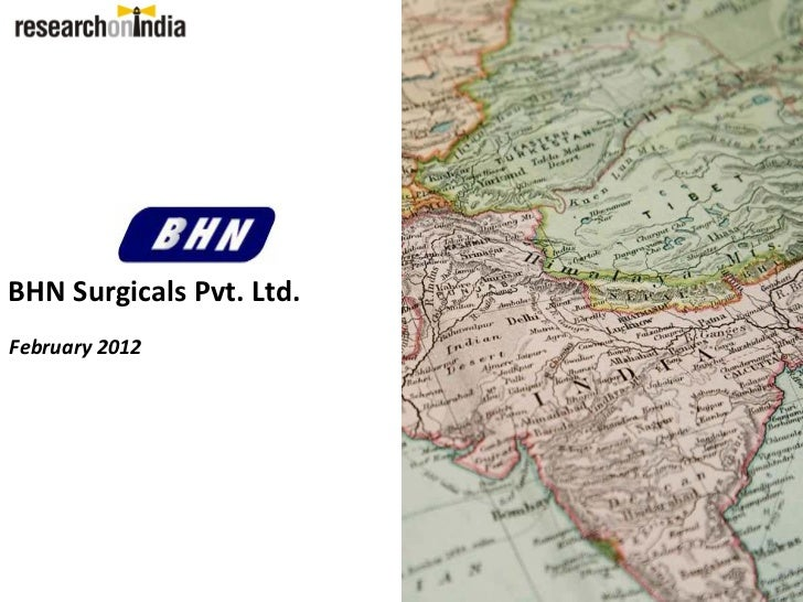 BHN Surgicals Pvt. Ltd.February 2012