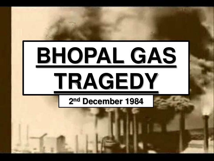 bhopal tragedy