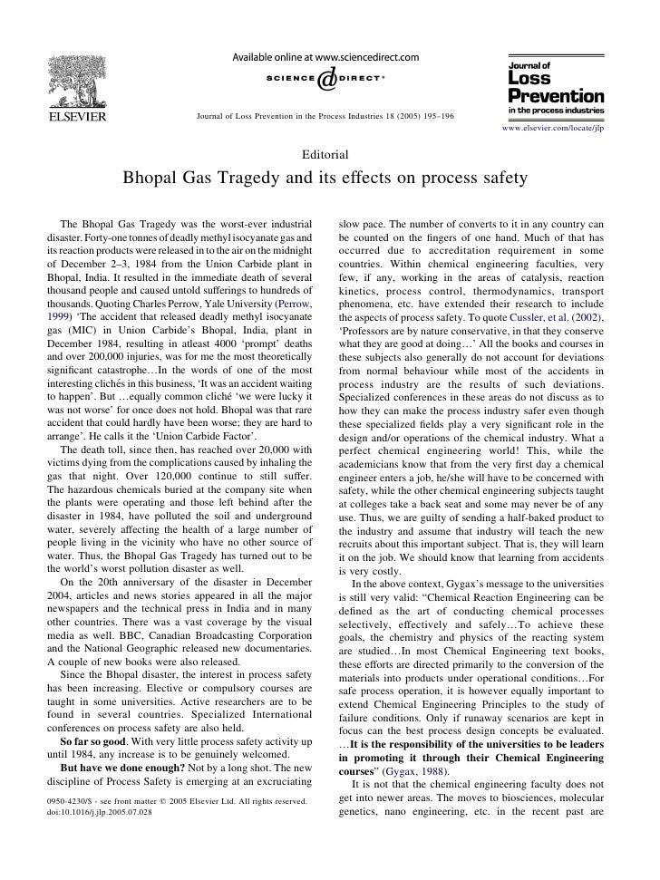 Journal of Loss Prevention in the Process Industries 18 (2005) 195–196                                                    ...