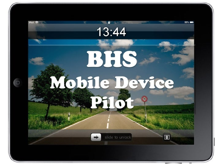 BHS - Mobile Device Pilot