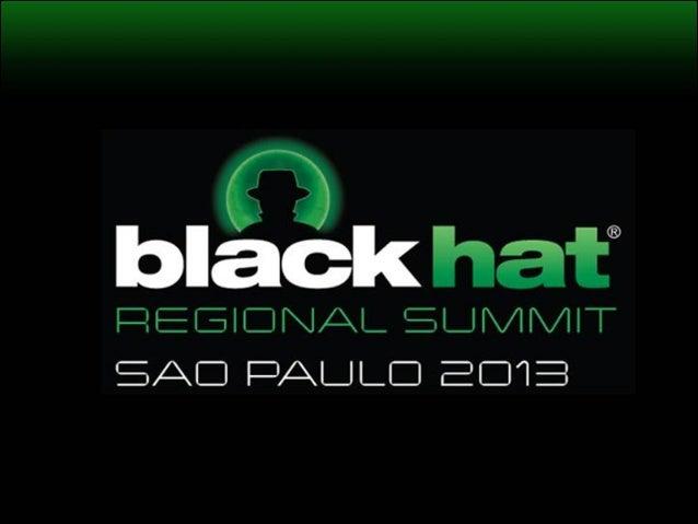 Defeating WhatsApp's Lack of Encryption - BH Sao Paulo 2013
