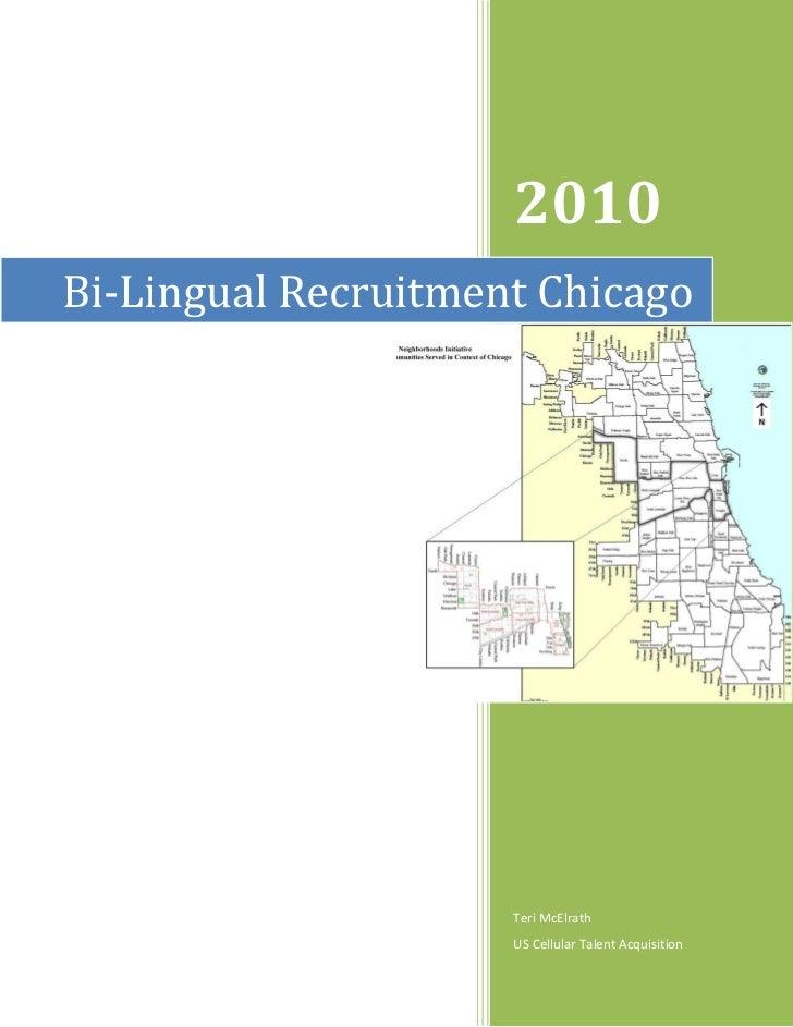 Bi lingual Recruitment Strategy