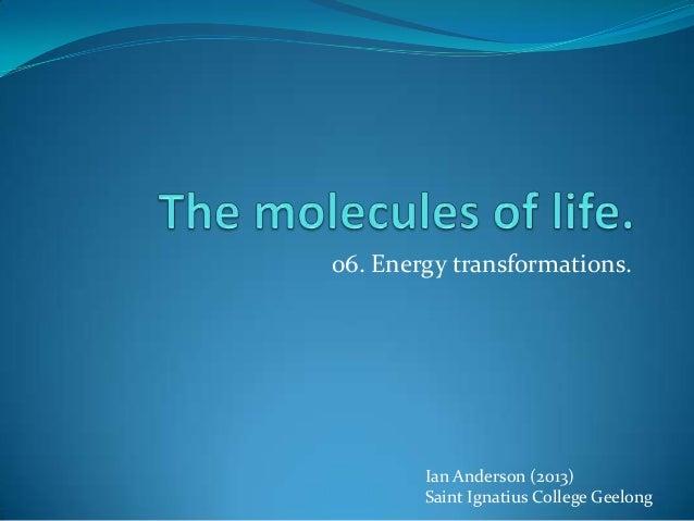 Ian Anderson (2013)Saint Ignatius College Geelong06. Energy transformations.