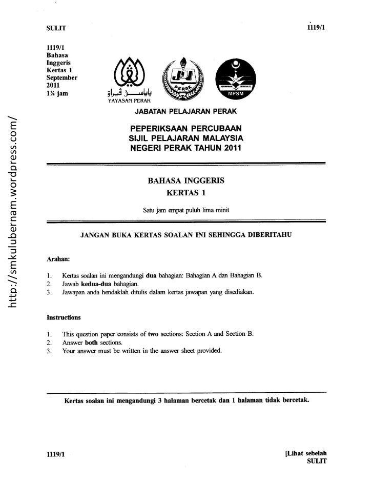 SPM Trial 2011 Paper 1- Perak.doc