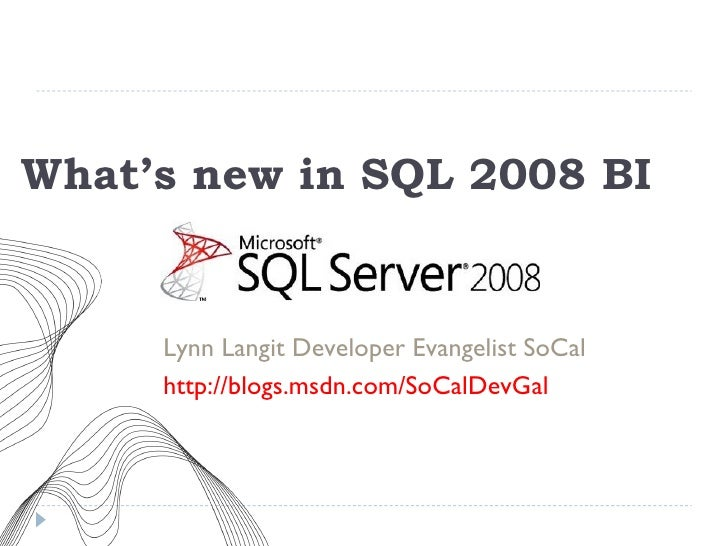 Bi2008 Plus Cloud Preview