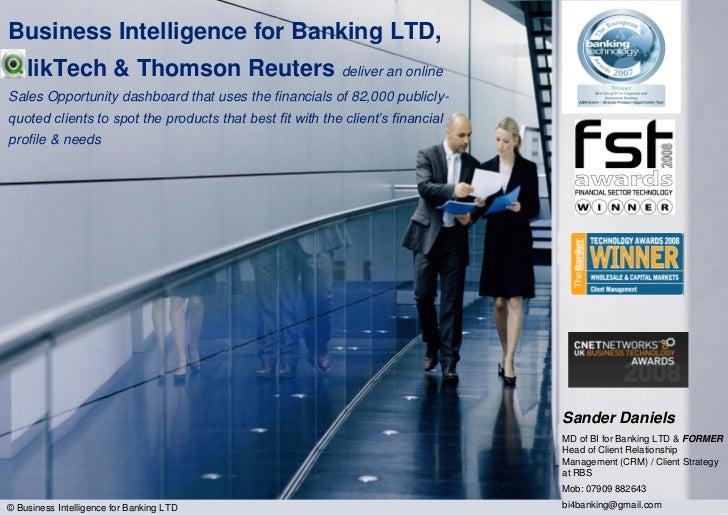 QlikTalk: QlikView in Banking