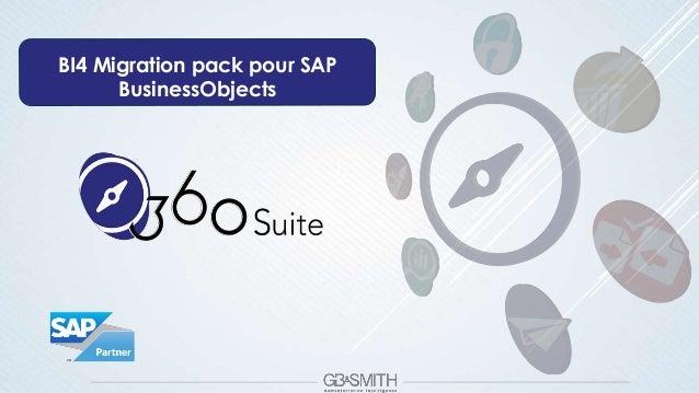 BI4 Migration pack pour SAP BusinessObjects