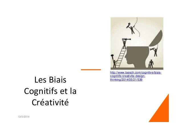 Les Biais Cognitifs et la Créativité 13/5/2014 1 http://www.taesch.com/cognitive/biais- cognitifs-creativite-design- think...