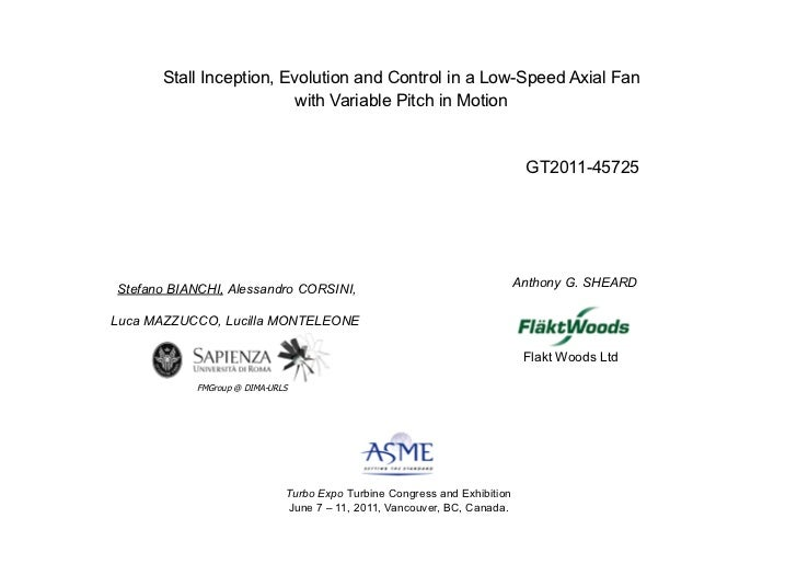 Stall Inception, Evolution and Control in a Low-Speed Axial Fan                         with Variable Pitch in Motion !   ...
