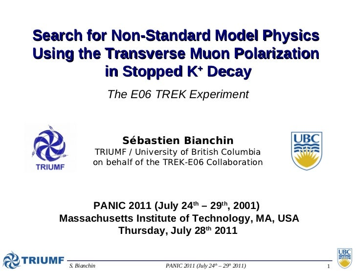 Search for Non-Standard Model PhysicsUsing the Transverse Muon Polarization          in Stopped K+ Decay                  ...