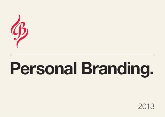 Personal Branding.2013