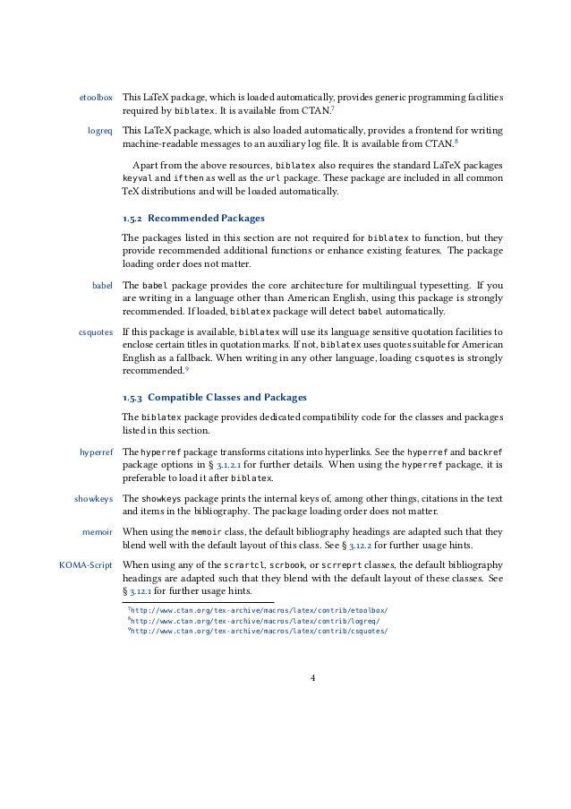 Writing phd thesis using latex